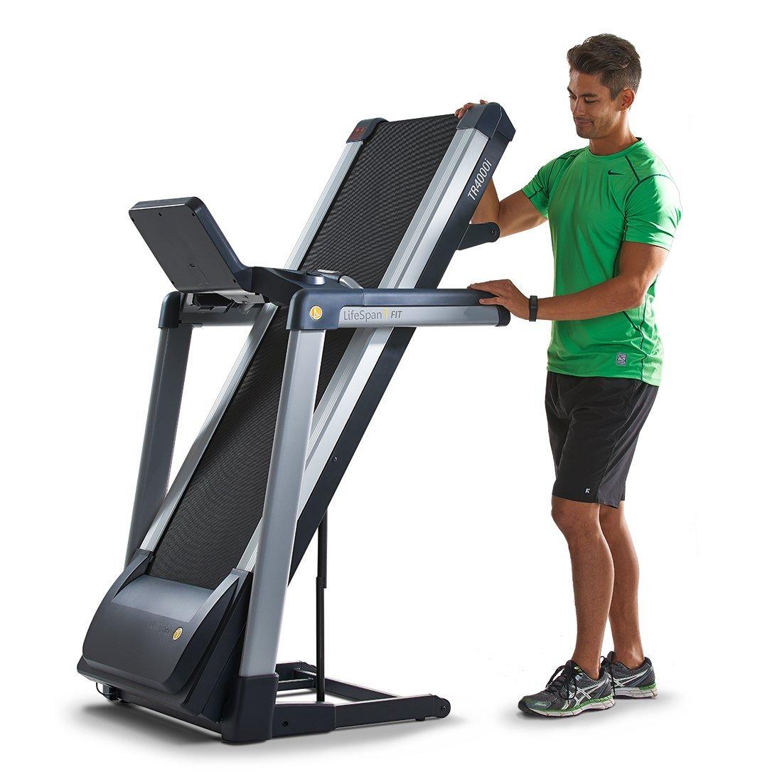 LifeSpan TR 4000i Folding Treadmill