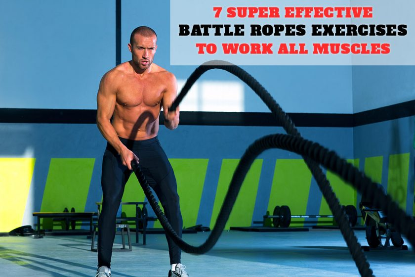 What muscles do battle ropes work exercises with videos