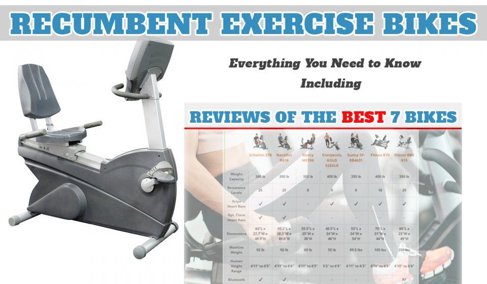 Best Recumbent Exercise Bike | Top 7 Exercise Bikes Reviews (2019)