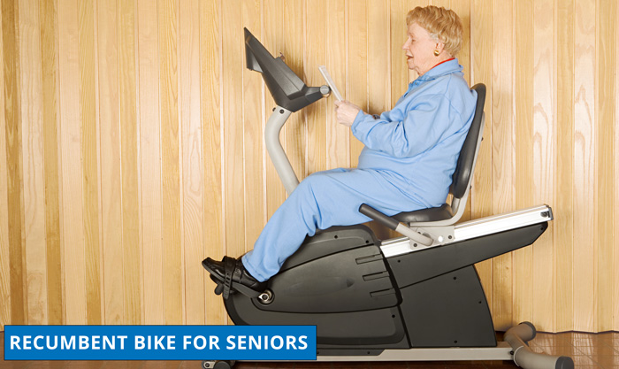 Recumbent Exercise Bike For Seniors