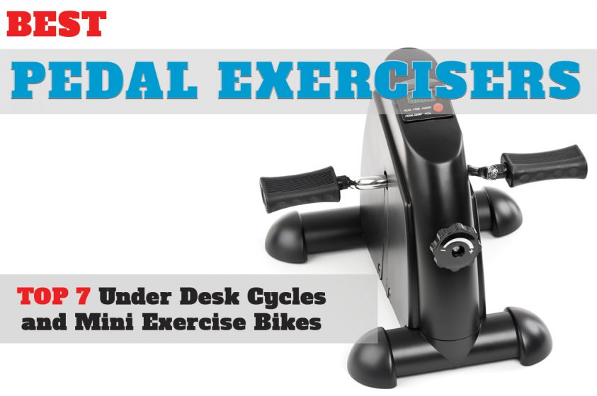 Deskcycle Desk Exercise Bike Pedal Exerciser Motorized Digital Mini Portable New