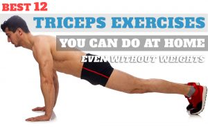 Triceps Workout Without Weights